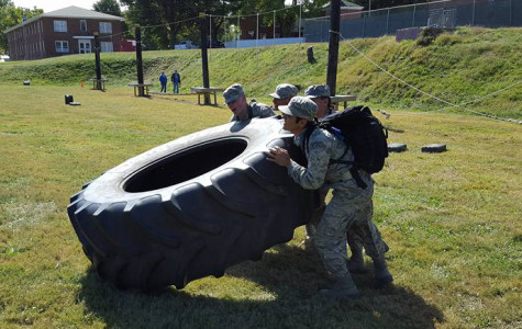 ROTC unveils new, hard-working Raider team