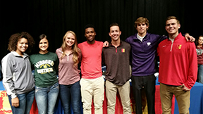 South athletes sign letters of intent