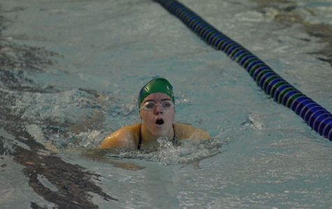 Girls swim with confidence heading into conference