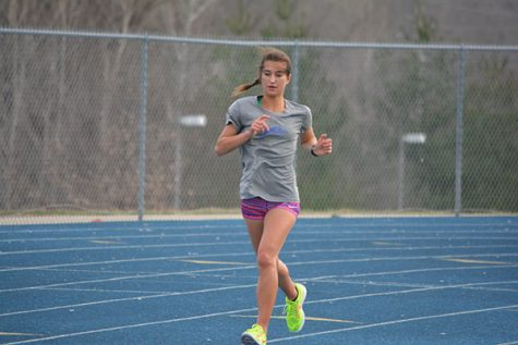 Girls track shows optimism heading into opening meet