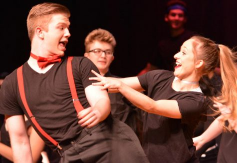 Students put on a theatrical exposure of their talents
