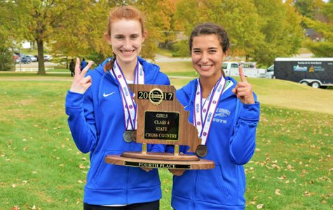 Senior girls finish first and second at State