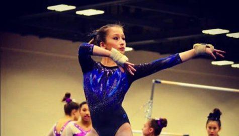 Sophomore thrives in gymnastics