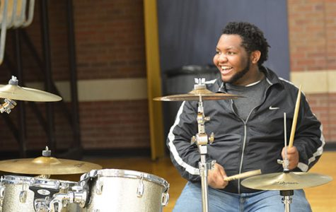 Senior displays diverse talents
