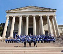 Jaguar Pride performs in Washington D.C.