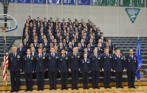 Air Force JROTC cadets recognized at decoration ceremony