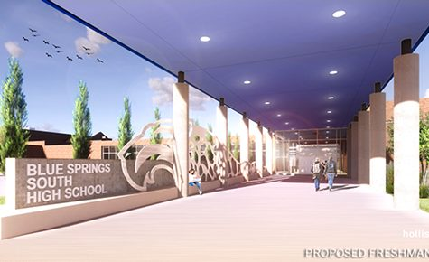 South adding a freshman wing, a black box theater, and sports facilities