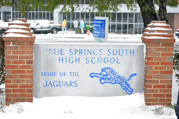 Snowy images of Blue Springs South