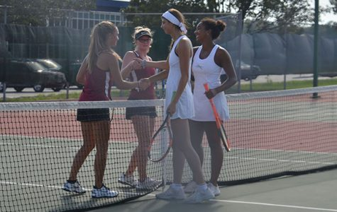 Girls tennis wins conference for first time since 2010