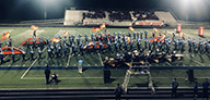 Jaguar Pride performs at Blue Springs South. Photo by Charlie Belt.