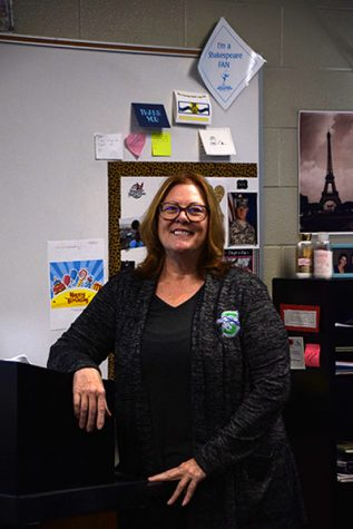English teacher, Janis Schuberth was recently named Teacher of the year Photo by, Sonnie Hernandez